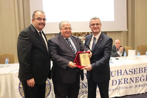 TMUD nin Taksim Elite World Otelde Düzenlemiş Olduğu Toplantı. GİB Grup Başkanı Abdullah Kiraz