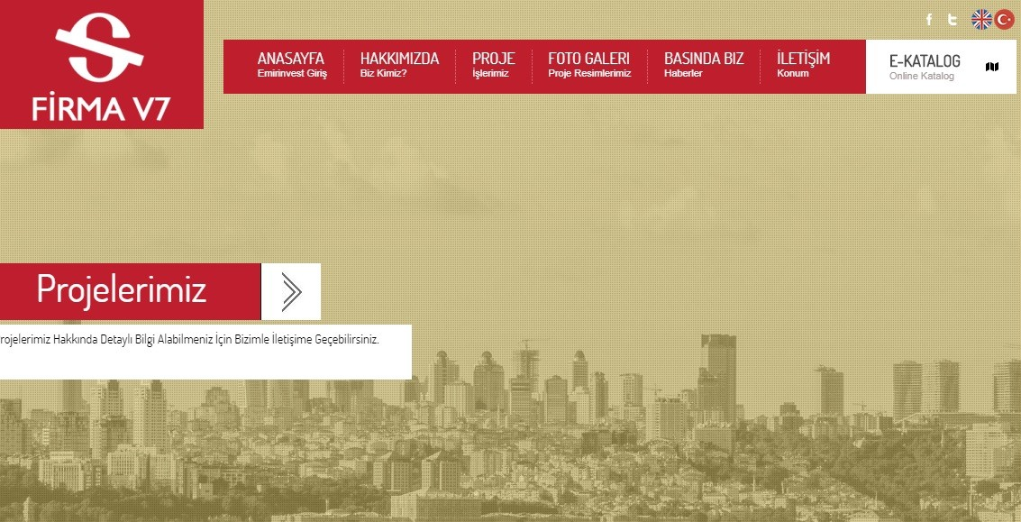 Firma Web Sitesi V6