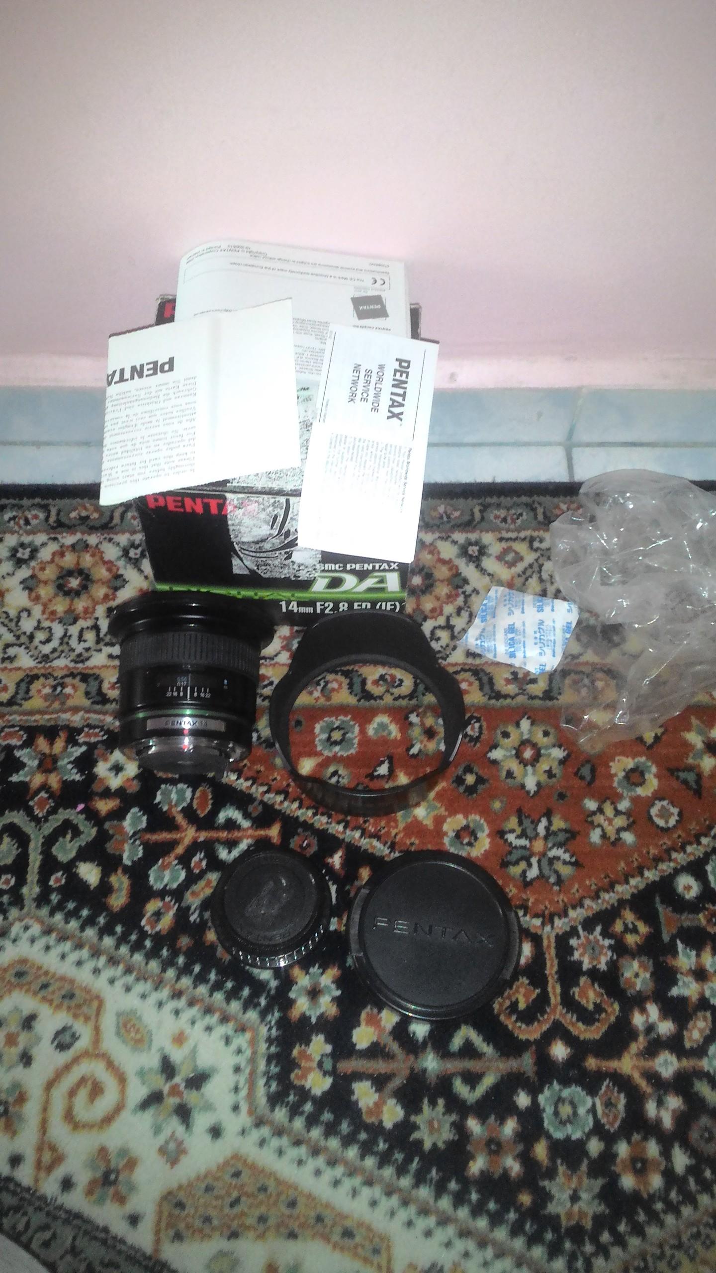 satılık pentax lensler