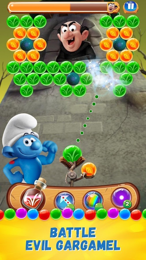 Smurfs Bubble Story Android Apk