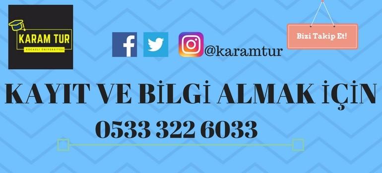 Karam Tur: 0533 322 6033