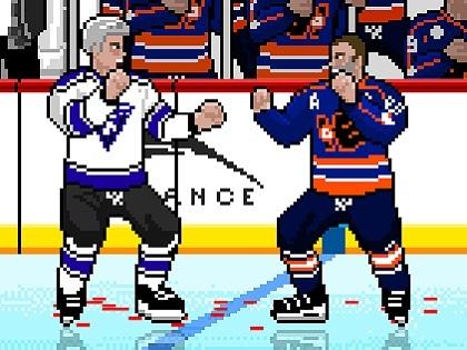 Buz Hokeyi Kavga Oyunu