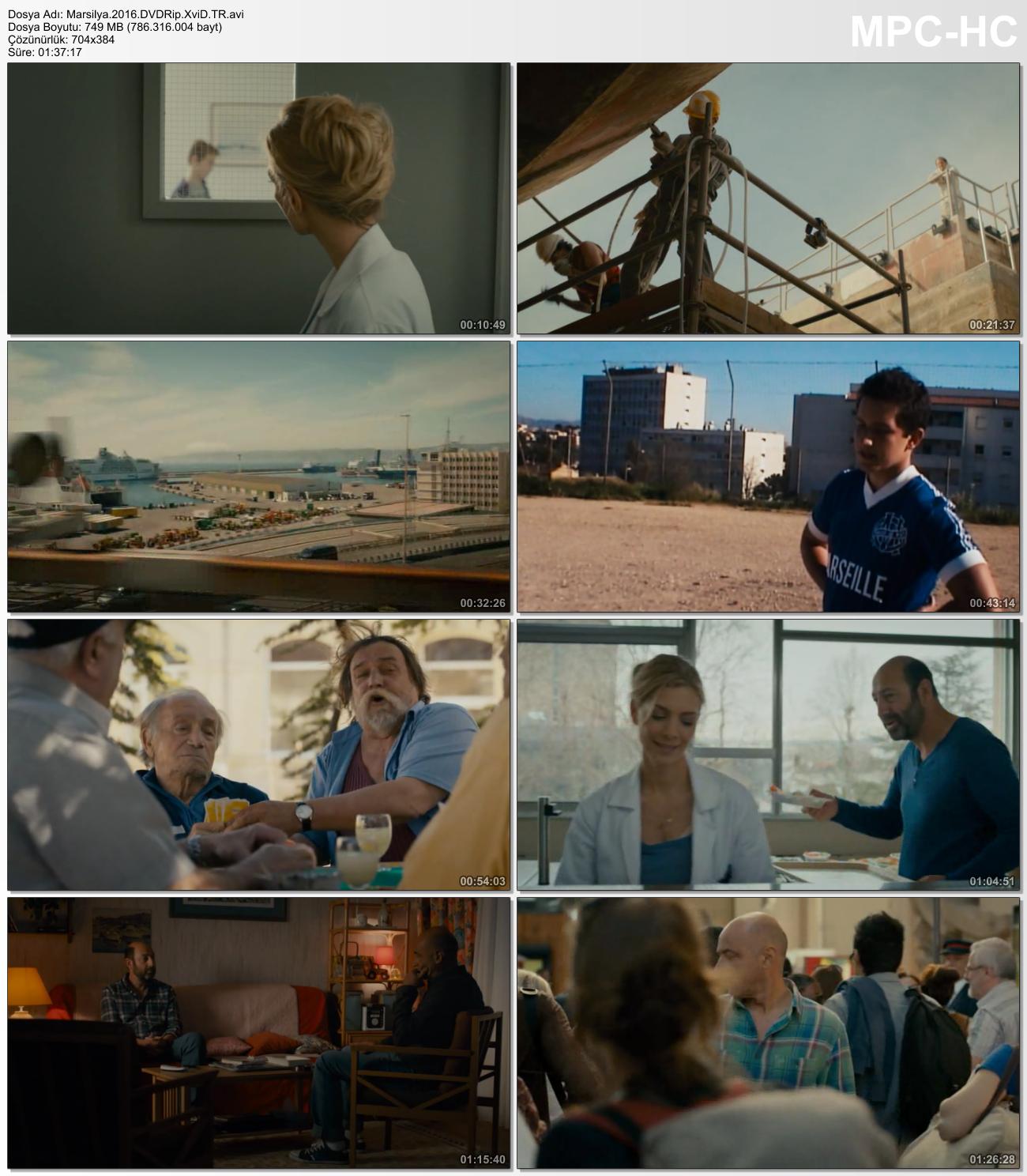 Marsilya - Marseille 2016 (Türkçe Dublaj) DVDRip XviD