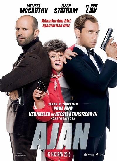 Ajan – Spy 2015 (BRRip XviD) Türkçe Dublaj indir
