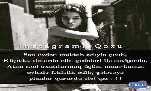 Qoxu Yazılı Şəkillər +16