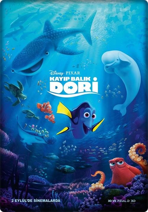 Kayıp Balık Dori - Finding Dory 2016 (Türkçe Dublaj) BDRip XviD