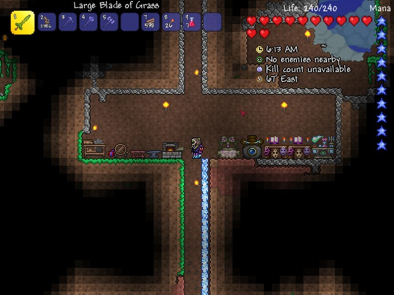 What should i do before defeating WoF? | Terraria Community