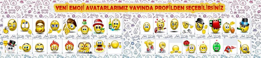 Omü Forum yeni emoji avatarları