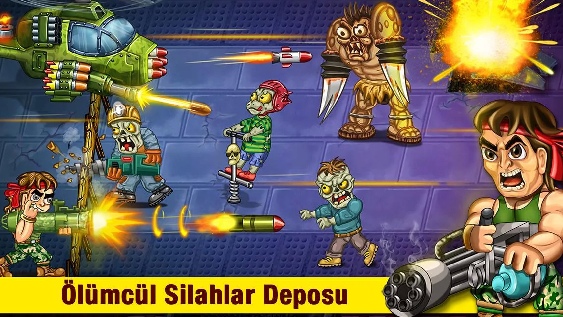 Last Heroes - Explosive Zombie Defense Shooting Apk