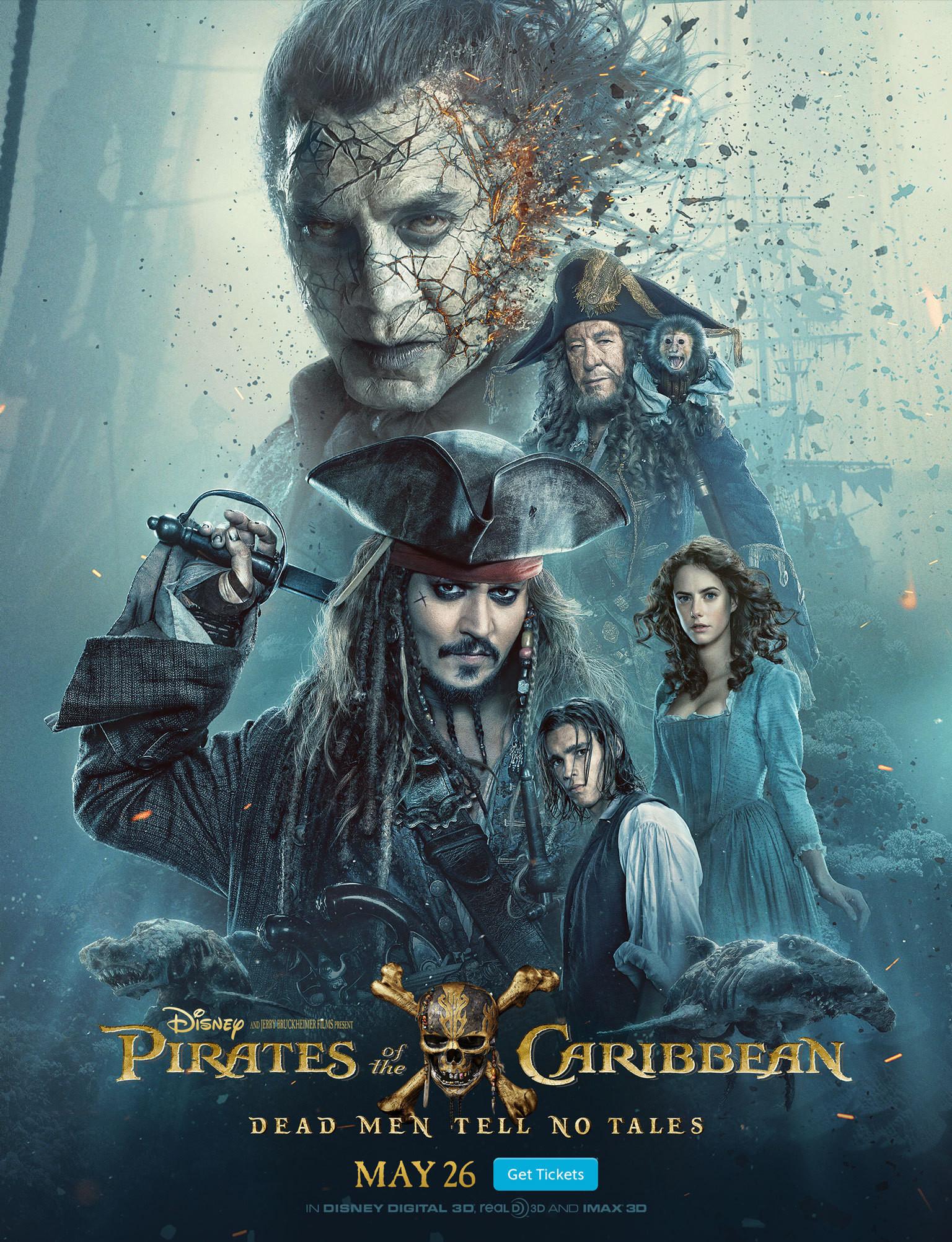 Karayip Korsanları Salazar'ın İntikamı (2017) TR Line HD İndir