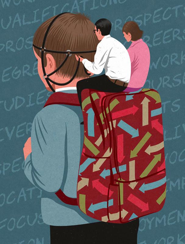 Çizer John Holcroft'ın Modern Toplumu Eleştiren 10 İllüstrasyonu 6. resim