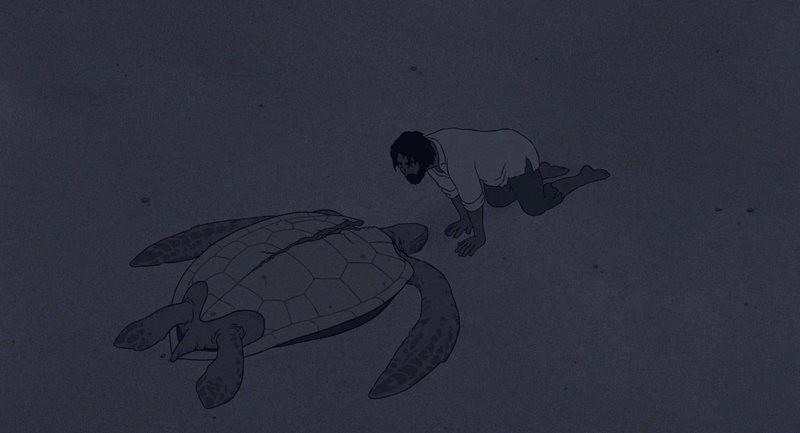 Kırmızı Kaplumbağa 2016 BRRip XViD Türkçe Dublaj - Film indir - Tek Link Film indir