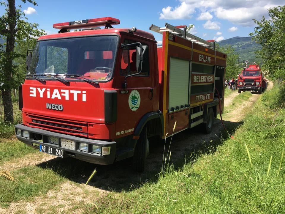Hacışaban Köyünde Yangın Çıktı (2017)