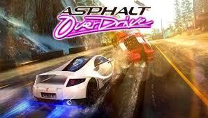 Asphalt OverDrive Apk v1.0.0k + Data Full Apk İndir