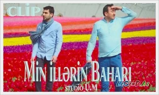 Aqsin Fateh & Şəhriyar Məcidi - Min illərin baharı / Official Clip + Mp3 2016