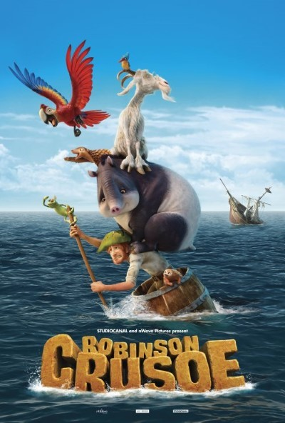 Robinson Crusoe (2016) türkçe dublaj 3d film indir