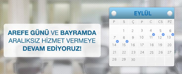 BursaGB Ailesi Bayram'da Kesintisiz Hizmeti Sürdürüyor !
