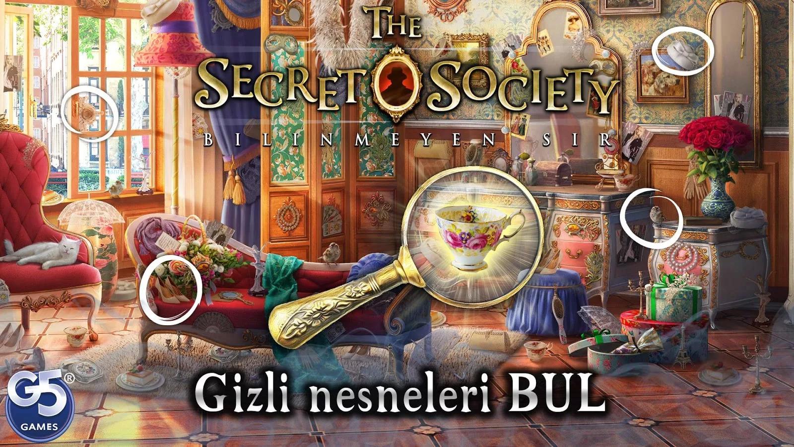 The Secret Society: Bilinmeyen Sır Apk Mod