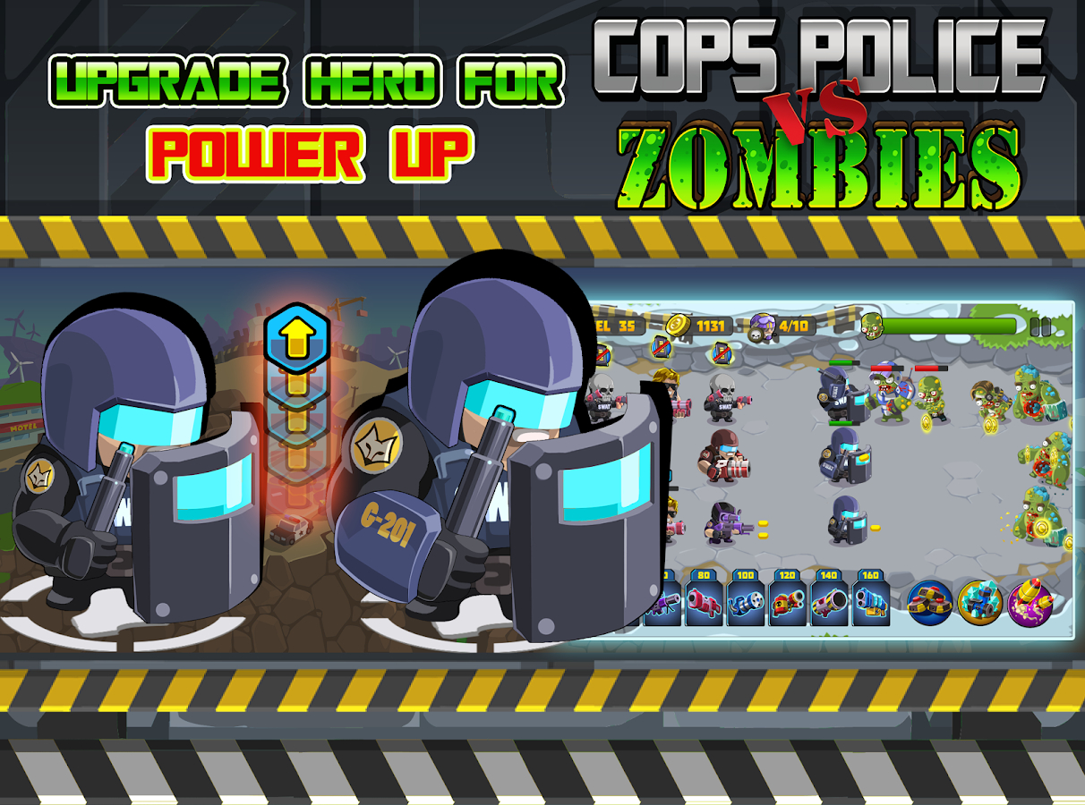 Cops VS Zombie Defense Apk