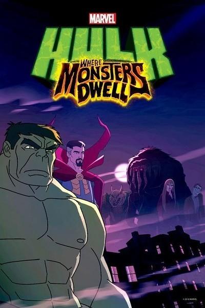 Hulk: Canavarlar Nerede Yaşar? - Hulk Where Monsters Dwell 2016 Türkçe Dublaj HDRip