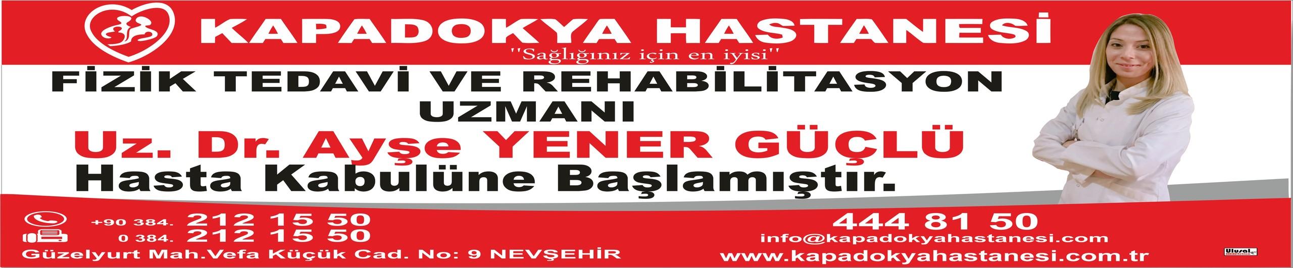 Kapadokya Hastanesi Ayşe Yener Güçlü