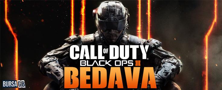 Haftasonu Call of Duty: Black Ops 3 Ücretsiz