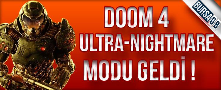 Doom 4 Ön Siparis Verebilirsiniz
