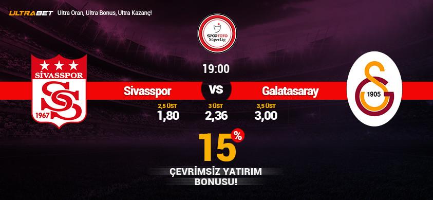 Sivasspor - Galatasaray Canlı Maç İzle
