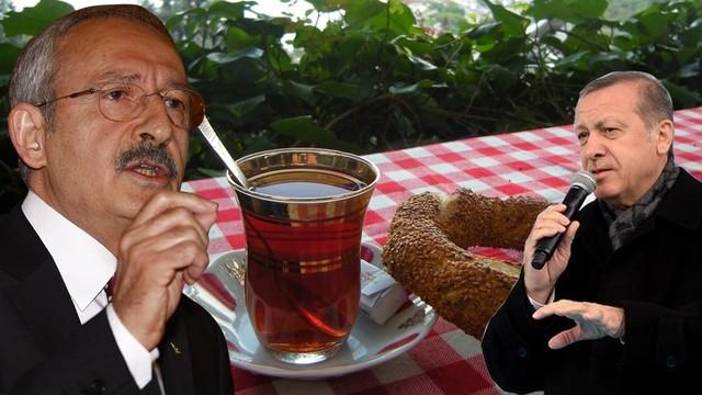 Erdoğan'ı kendi hesabıyla vurdu
