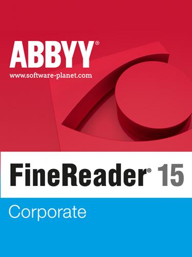 ABBYY FineReader 15 Corporate 15.0.113.3886 | Katılımsız