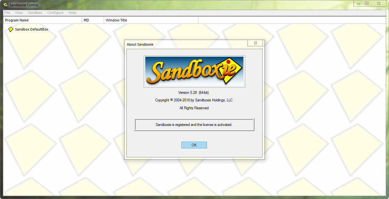 Sandboxie 5.31.4 Final | Katılımsız