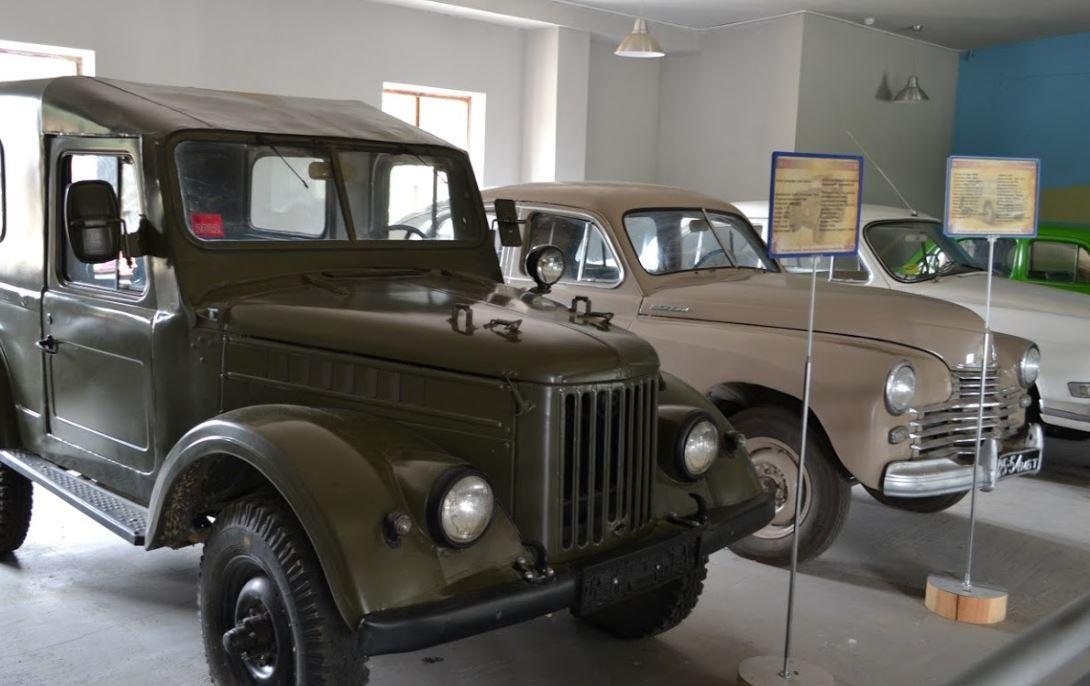 Dudutki Müze Arabalar
