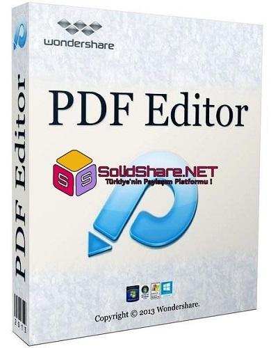 Wondershare PDF Editor & OCR Plugin 3.9.0.9 Multi Language | Full Programlar
