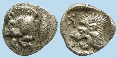 domuzlu para antik grek