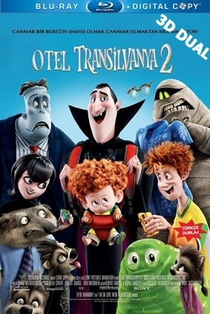 Otel Transilvanya 2 3D – Hotel Transylvania 2 3D 2015 BluRay Half-SBS 1080p DUAL TR-EN – Tek Link