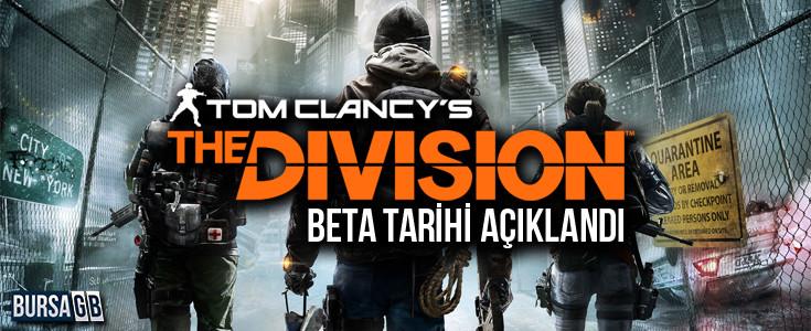 The Division Beta Tarihi Nihayet Resmileşti