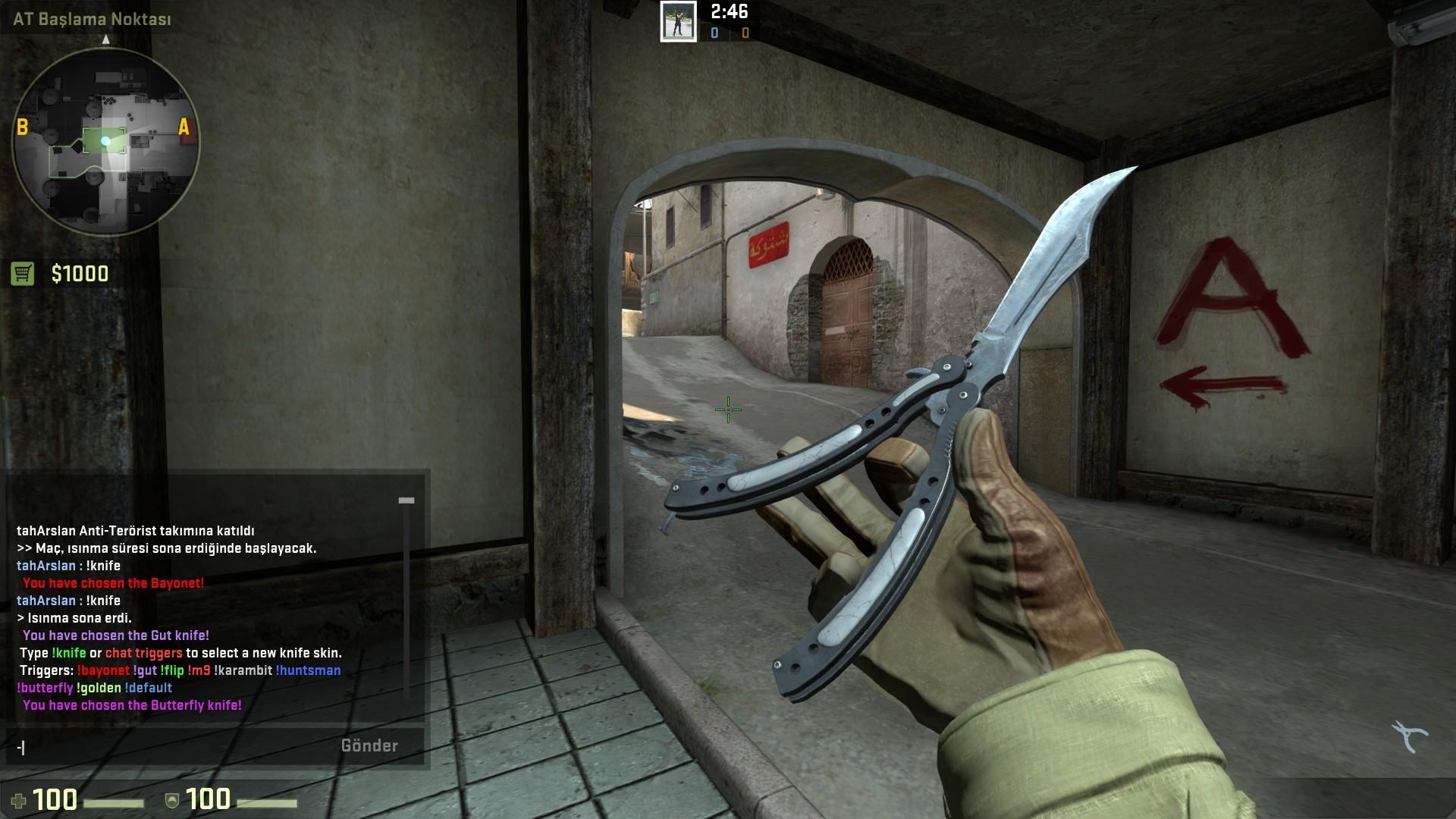 CS:GO Knife Upgrade Plugin / !knife Menü Plugini - Arşiv
