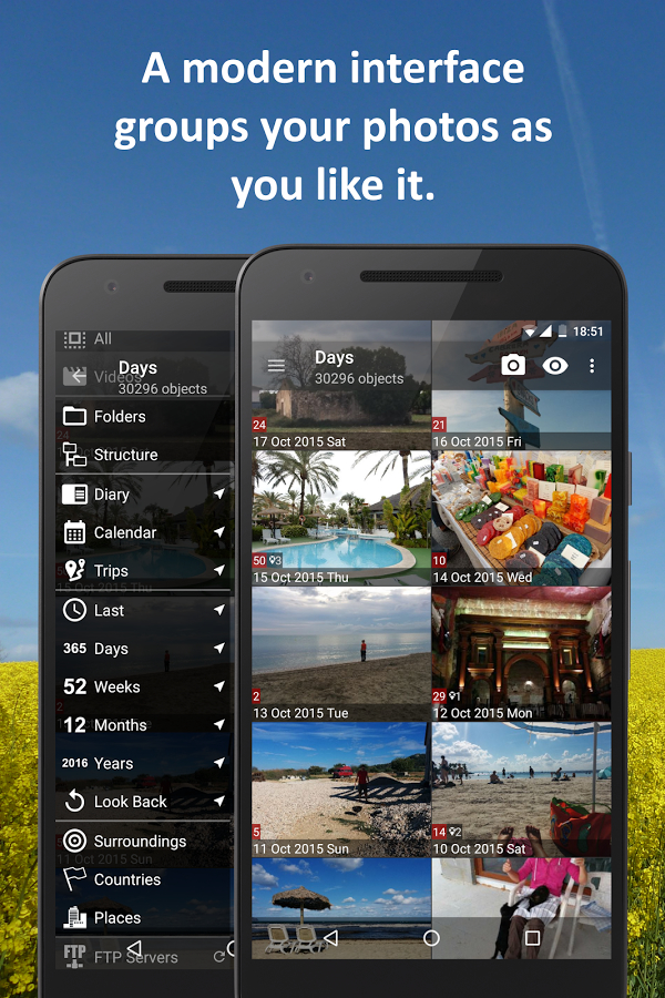 PhotoMap PRO Gallery - Photos, Videos and Trips Apk Program