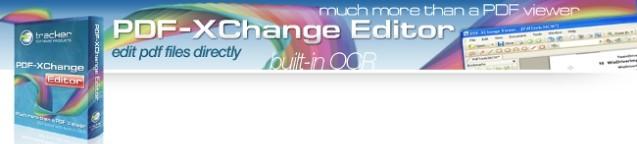 PDF-XChange Editor 3.0.307.0