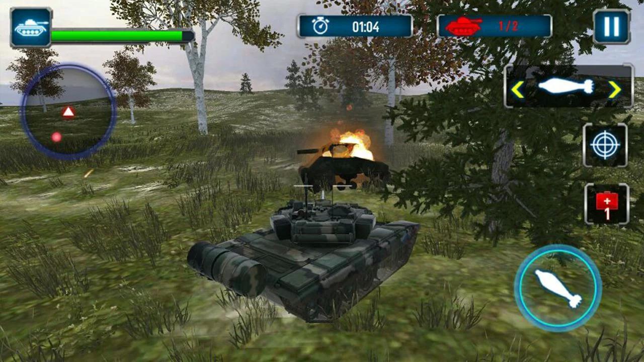 Tank Strike 3D Apk Mod