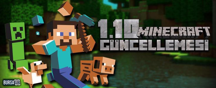 Minecraft 1.10 Güncellemesi Geldi