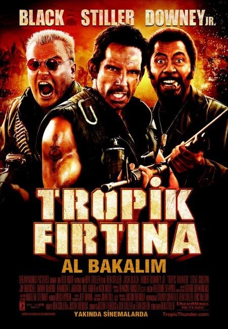 Tropik Fırtına : Al Bakalım - Tropic Thunder (2008) - türkçe dublaj film indir
