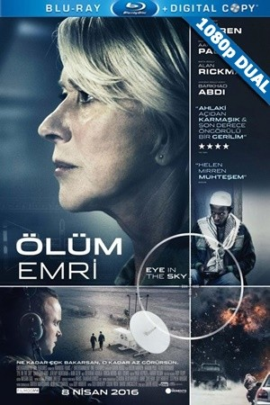 Ölüm Emri - Eye in the Sky | 2015 | BluRay 1080p x264 | DUAL TR-EN