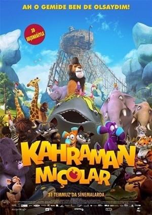 Kahraman Miçolar - Ooops! Noah is Gone | 2015 | BRRip XviD | Türkçe Dublaj