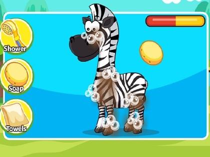Dora İle Zebra Bakımı Oyunu