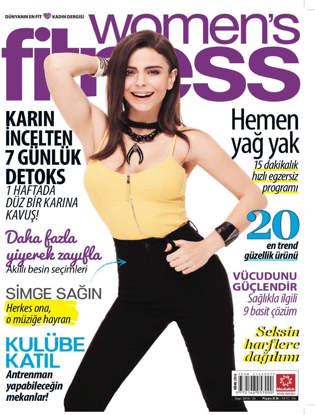 Womens Fitness Nisan 2016 PDF Dergi indir