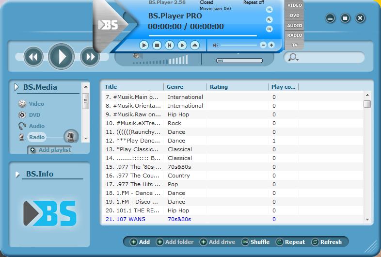 BS.Player Pro Full Program