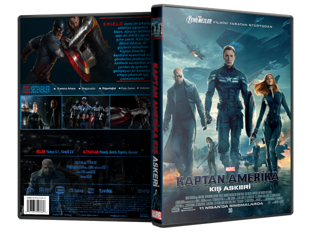Kaptan Amerika: Kış Askeri - Captain America: The Winter Soldier 2014 ( DVD-5 ) TR-ENG Tek Link İndir