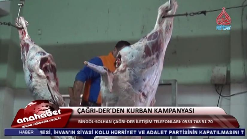 ÇAĞRI DER'DEN KURBAN KAMPANYASI