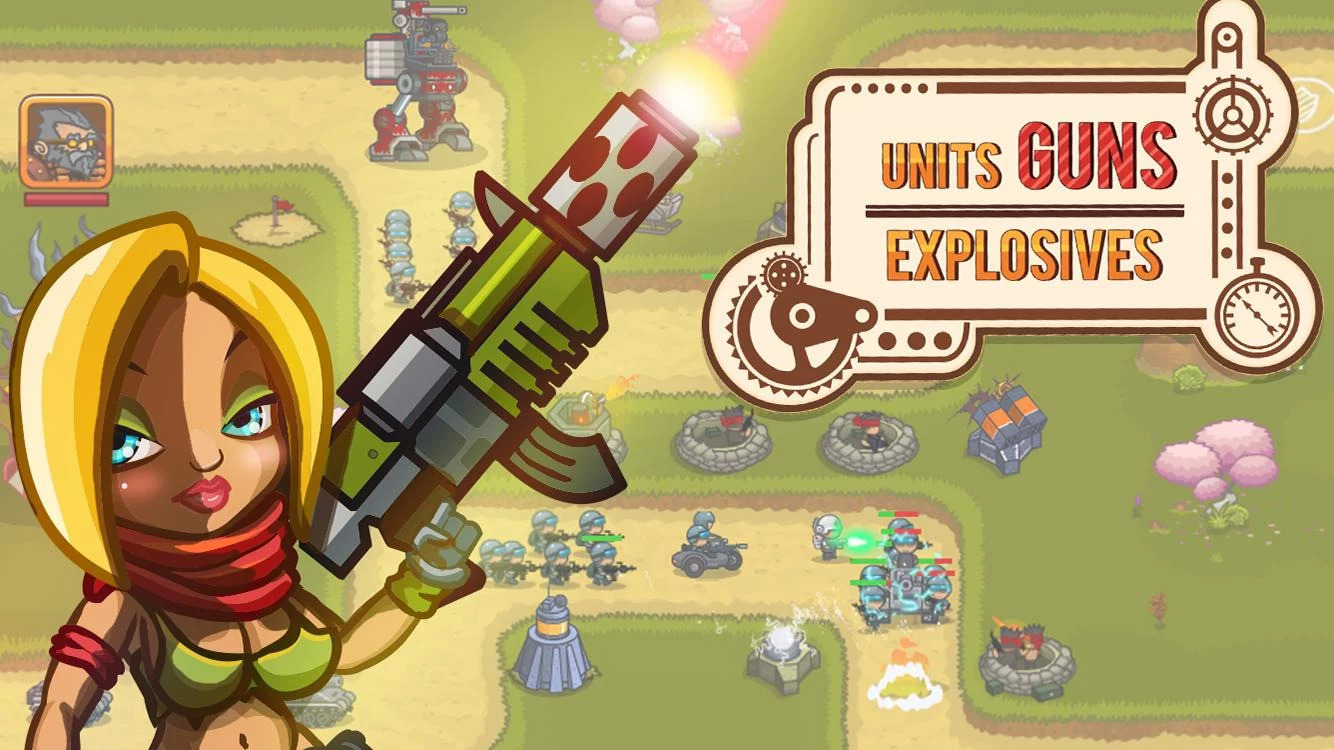 Steampunk Defense Android Oyun